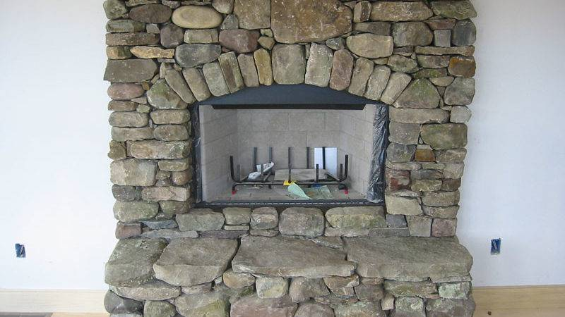 Stone Fireplace Designs Can Change Whole Appearance