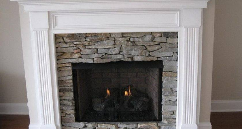 Stone Fireplace Surround Cast Mantel