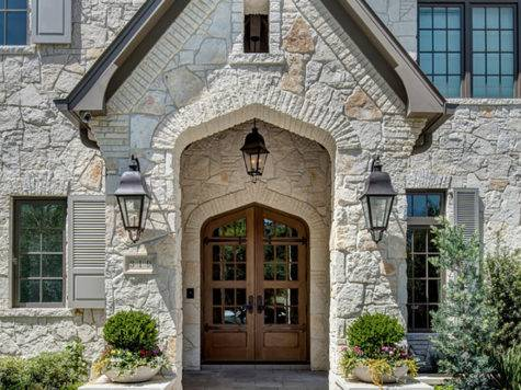 Stone Home Transitional French Country Interiors