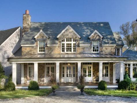 Stone Residence Traditional Exterior Nashville