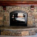 Stone Work Fireplaces Patterson Homes Llc