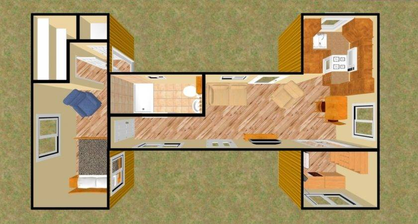 Storage Container Home Plans Modern Mad Interior