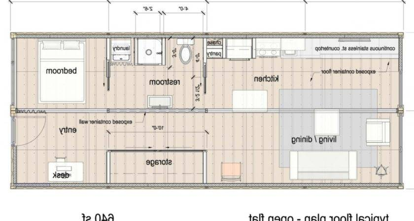 Storage Container Homes Plans Ideas Home