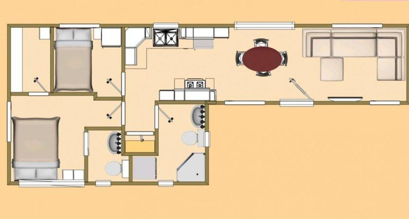 Storage Container Plans Shipping Home Floor