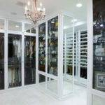 Storage Glass Door Big Closet Designs Modern