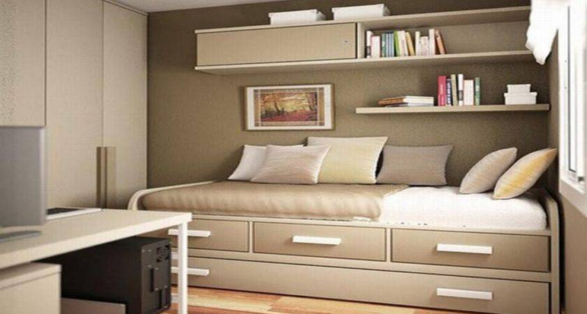 Storage Ideas Small Bedrooms Stick Under Bed
