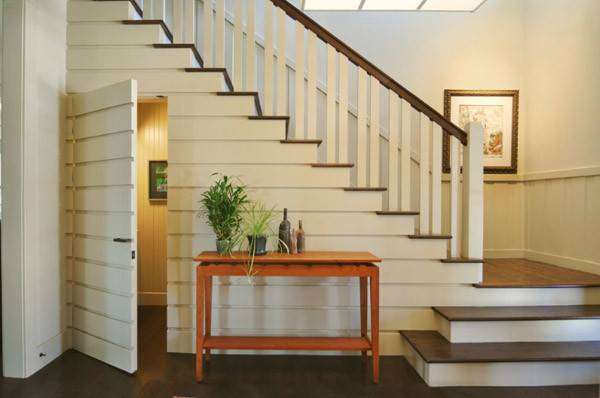 Storage Ideas Under Stairs Design Sponge