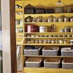 Storage Pantry Organized Shelves Ideas Kitchen