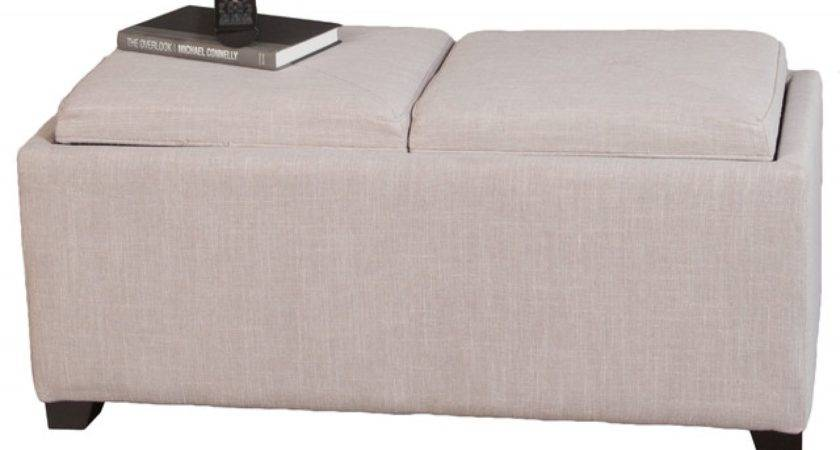 Storage Seating Cubes Coffee Table Ottoman