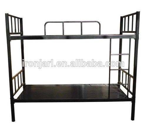 Strong Dormitory Metal Bunk Bed Military Steel