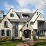 Stucco Stone Traditional Exterior Chicago