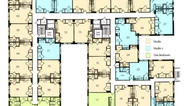 Studio Apartment Building Plans Design Decoration