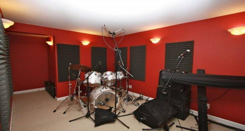 Studio Decorating Ideas Home Music Design