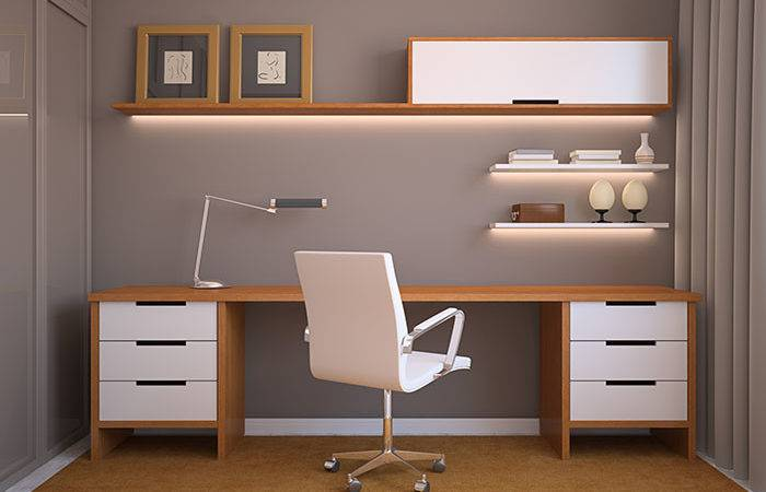 Study Home Office Shelving Storage
