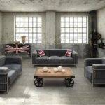 Stunning Industrial Living Room Designs Rilane
