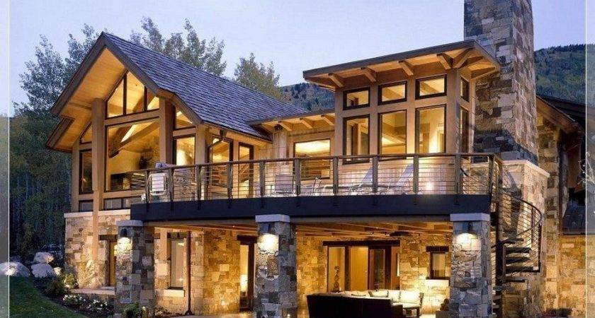 Stunning Stone Home Designs Photos Beautiful