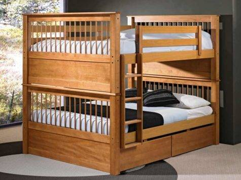 Sturdy Bunk Beds Adults Feel Home