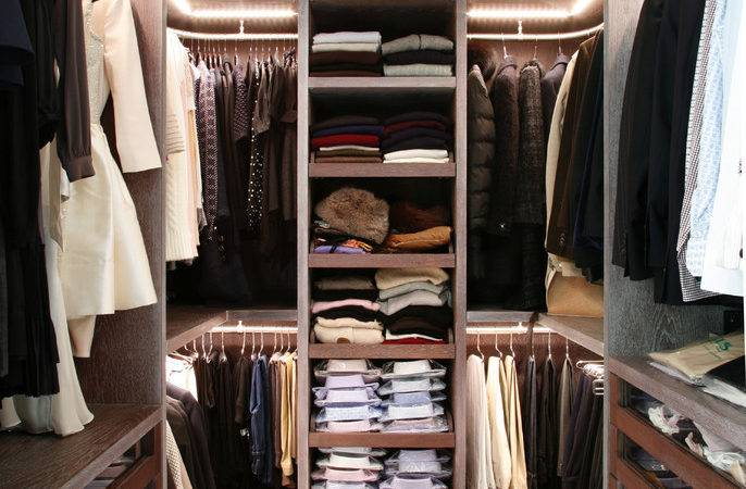 Stylish Exciting Walk Closet Design Ideas