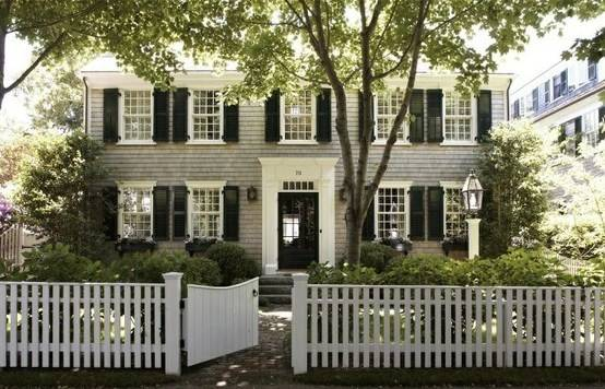 Stylish Home Black White House Exteriors