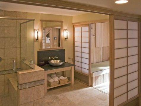 Stylish Japanese Bathroom Design Ideas