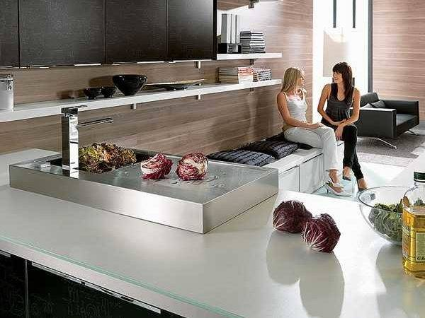 Stylish Kitchen Countertop Materials Modern