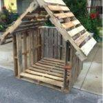 Stylish Pallet Dog Houses Designs Recycled Ideas