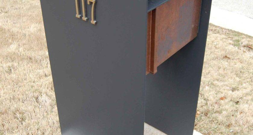 Stylish Post Modern Mail Box Invites More Letters