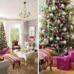 Stylish Victorian Residence Decorated Christmas