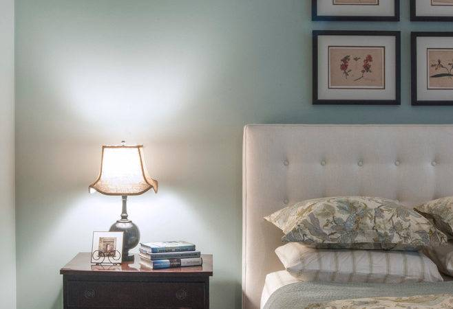 Sublime Linen Upholstered Headboard Decorating Ideas
