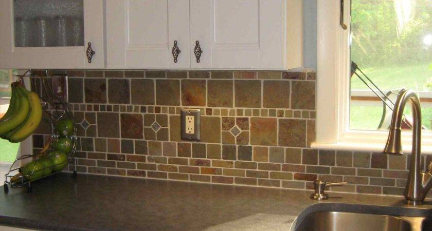 Subway Tile Backsplash Off White Cabinets Deductour