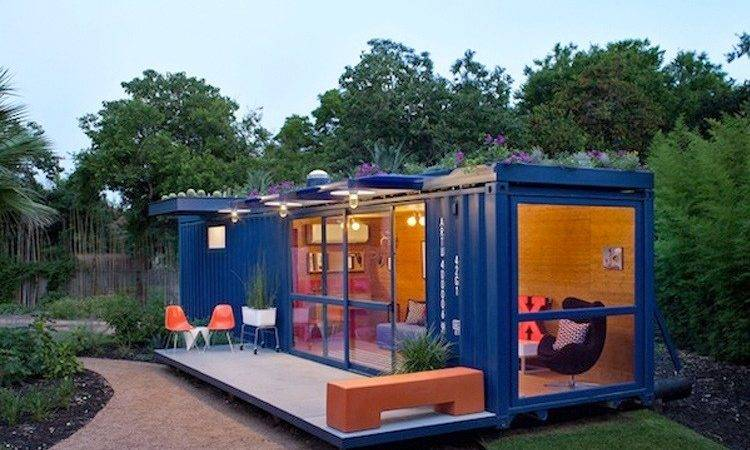 Super Cool Tiny Houses Made Shipping Containers