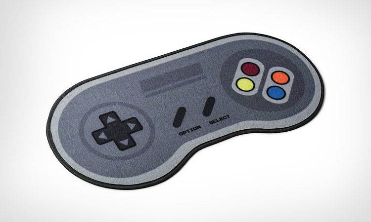 Super Nintendo Controller Door Mat Wipe Your Feet