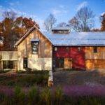 Sustainable Modern Rustic Barn House Pennsylvania
