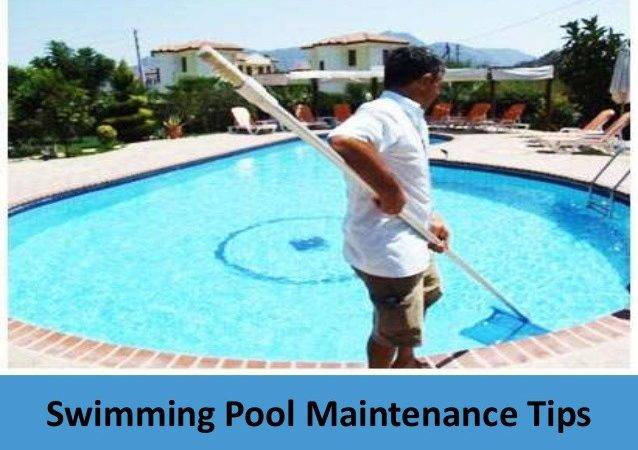 Swimming Pool Maintenance Tips