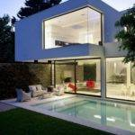 Swimming Pool Minimalist Modern Home Design Ideas