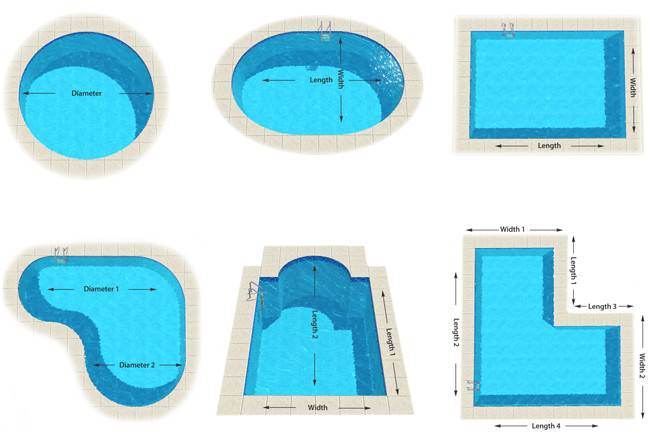 Swimming Pool Shapes Best Ideas