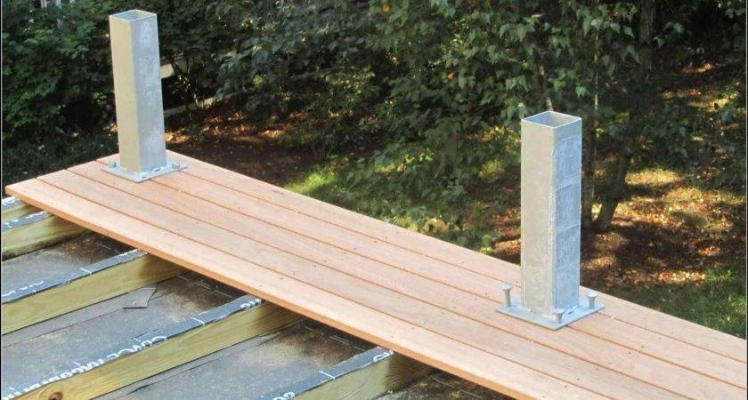 Synthetic Decking Material Home Gardens Geek