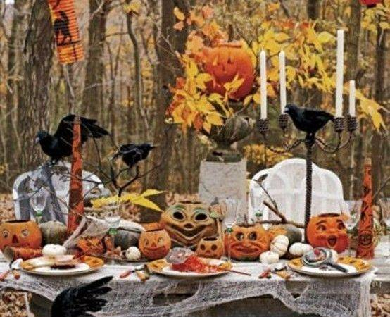 Table Decoration Halloween Party Decorations Ideas