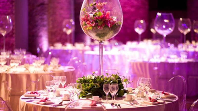 Tall Glass Wedding Table Centerpieces Weddings