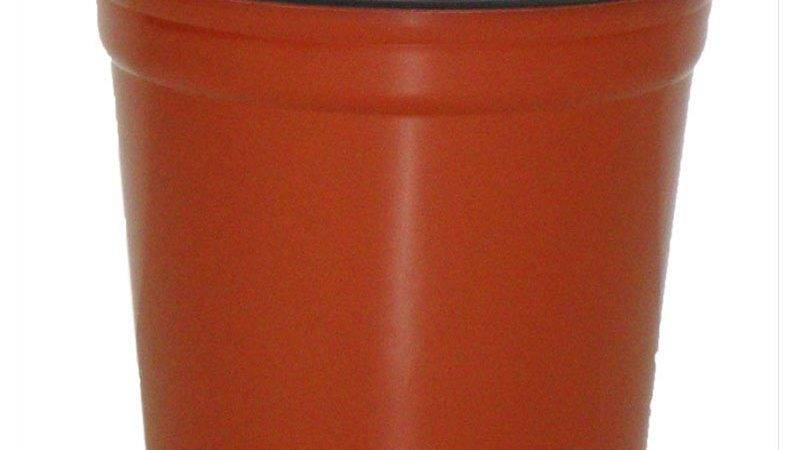 Taller Gloss Terracotta Flower Pot