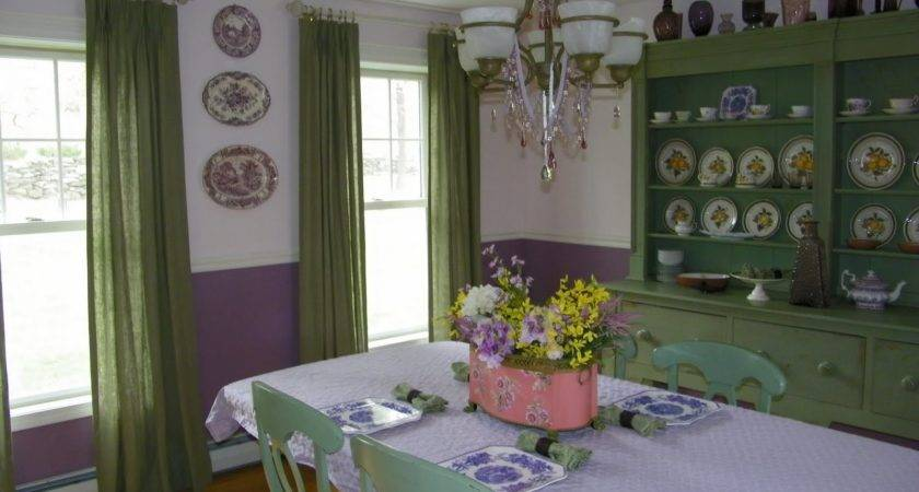 Teas Time Green Interiors Colors Purple