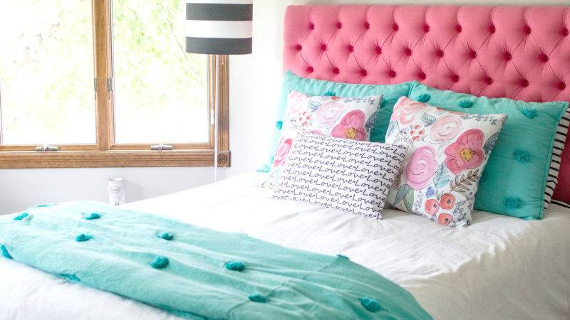 Teen Bedroom Makeover Decor Fix