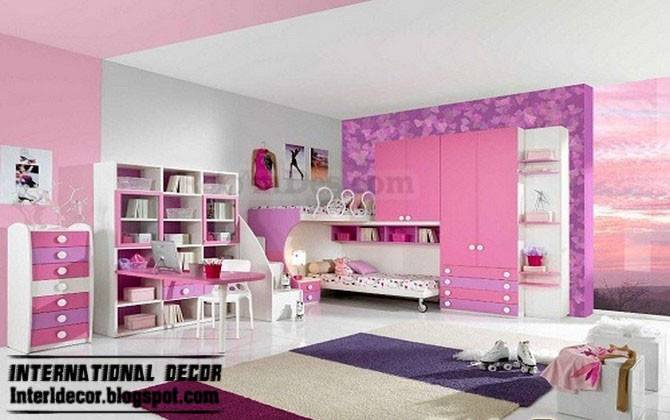 Teen Girls Bedroom Romantic Ideas