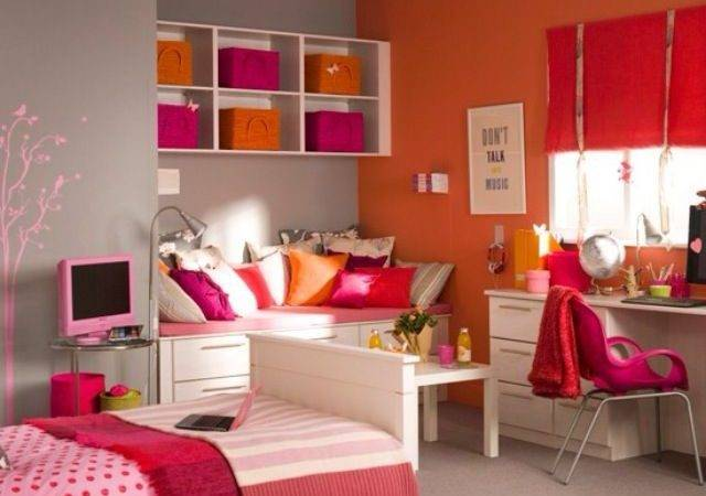 Teenage Girl Bedroom Decorating Ideas Room