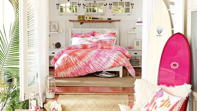 Teenage Girl Bedroom Ideas Hawaiian Hideaway Pbteen