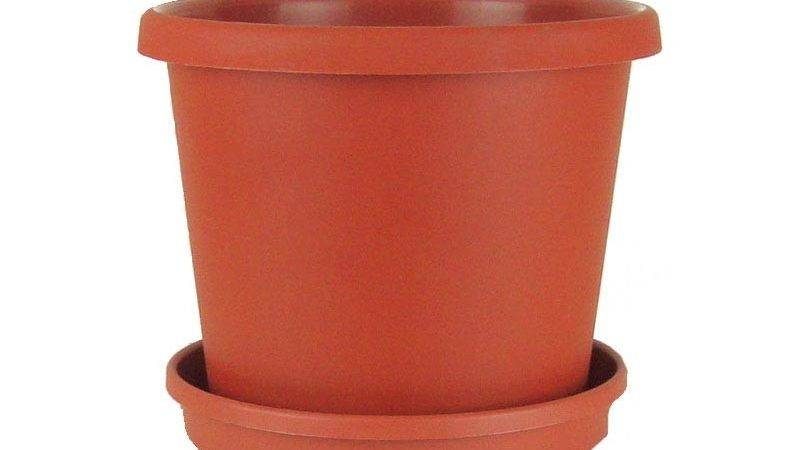Terracotta Plastic Flower Pot Saucer