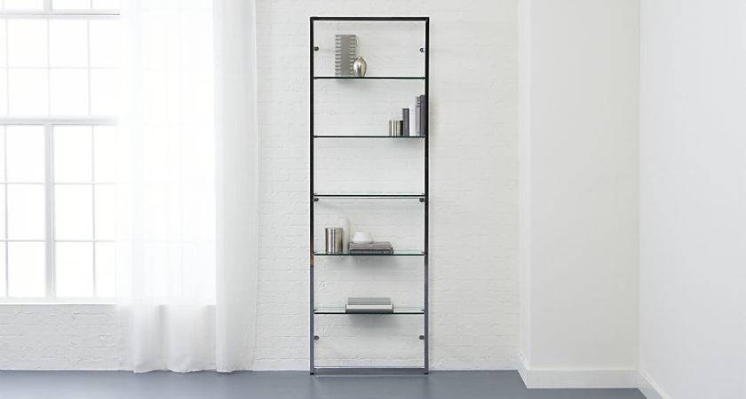 Tesso Chrome Wall Mounted Bookcase