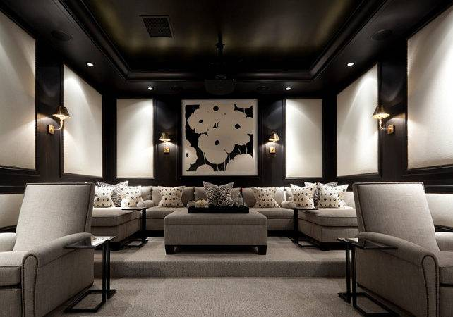 Theater Rooms Home Theaters Pinterest