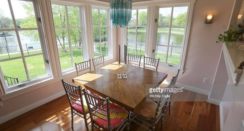There Formal Dining Room House But
