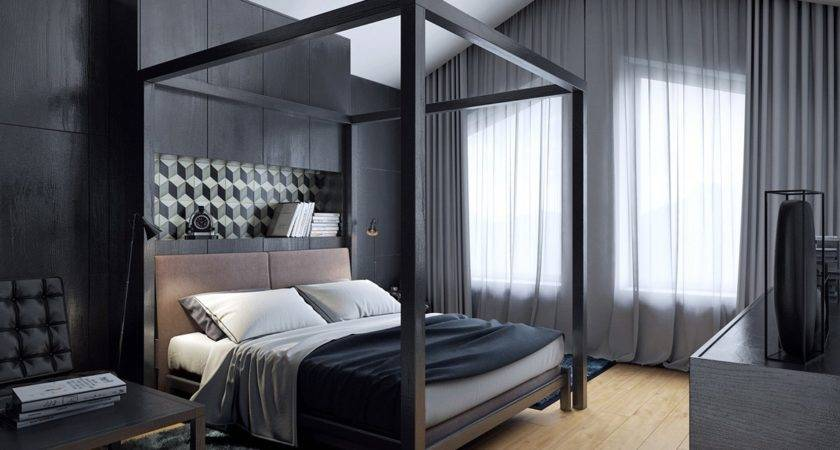 These Dark Bedrooms Put Dream Like State